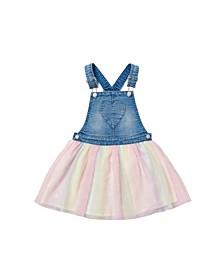 Toddler Girls Rainbow Printed Tutu Skirtall