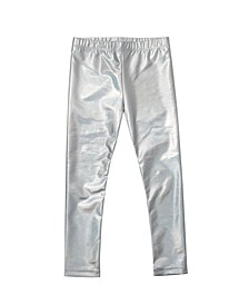 Little Girls Metallic Legging