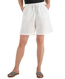 Petite Lila Drawstring Shorts, Created for Macy's
