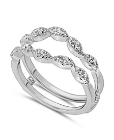 Diamond Enhancer Ring Guard (1/2 ct. tw.) in 14K White or Yellow Gold