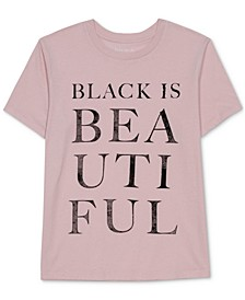 Juniors' Black is Beautiful T-Shirt