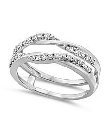 Diamond Enhancer Ring Guard (1/3 ct. t.w.) in 14K White Gold