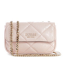 GUESS Dilla Quilted Logo Micro Mini Bag