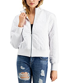 Cici Quilted Bomber Jacket