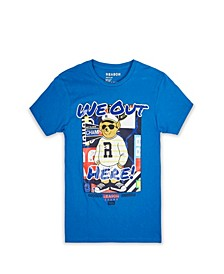 Men's Big & Tall We Out Here T-Shirt