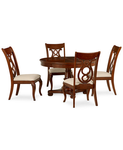 Dining Room Furniture Set Table 4 Side Chairs Furniture Macy