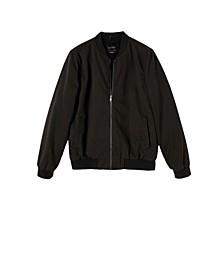 Men's Canvas Bomber Jacket