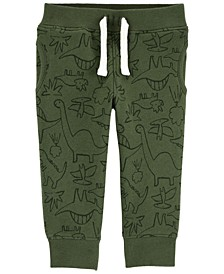 Baby Boys Dinosaur Pull-On Fleece Pants