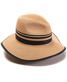 INC Blocked Straw Panama Hat, Created for Macy's