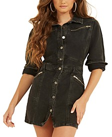 Joplin Cotton Denim Mini Dress