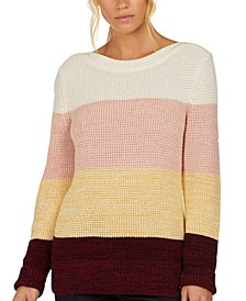 Salcombe Cotton Colorblocked Sweater