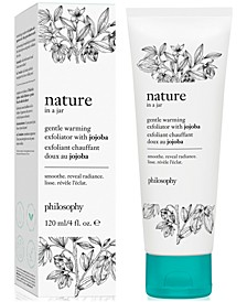 Nature In A Jar Gentle Warming Exfoliator With Jojoba, 4-oz.