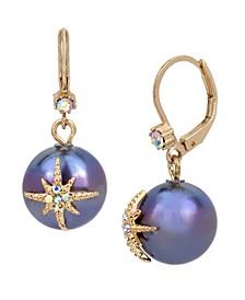 Celestial Pearl Drop Earrings