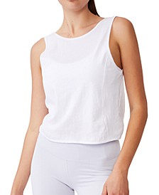 Women's On The Go Twist Back Tank