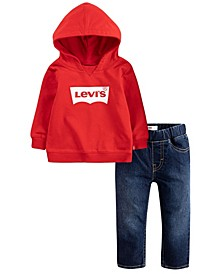 Baby Boys Hoodie and Jeans Set