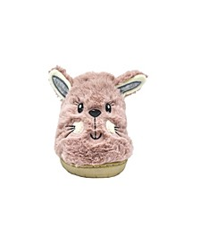 Women's Fuzzy Faux Fur Shearling Bunny Slippers