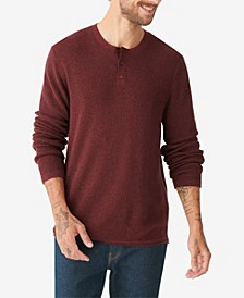 Men's Welterweight Henley Sweater