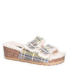 Women's Time Out Cozy Wedge Slides