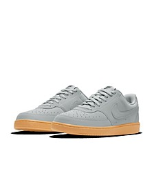 Men's Court Vision Low Casual Sneakers from Finish Line