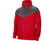 Men's Ohio State Buckeyes Colorblocked Windrunner Jacket