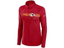 Women's Kansas City Chiefs Quarter-Zip Pullover Top