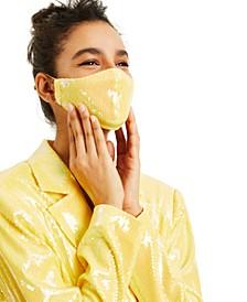 CULPOS X INC Sequin Face Mask, Created for Macy's