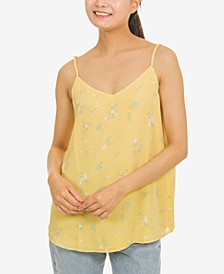 Juniors' V-Neck Cami