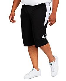 """Big & Tall Men's 10"""" Training Cat Shorts"""
