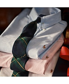 Men's Signature Oxford Shirt, Regular and Big & Tall