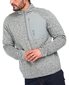 Men's Liam Half-Zip Pullover Sweater
