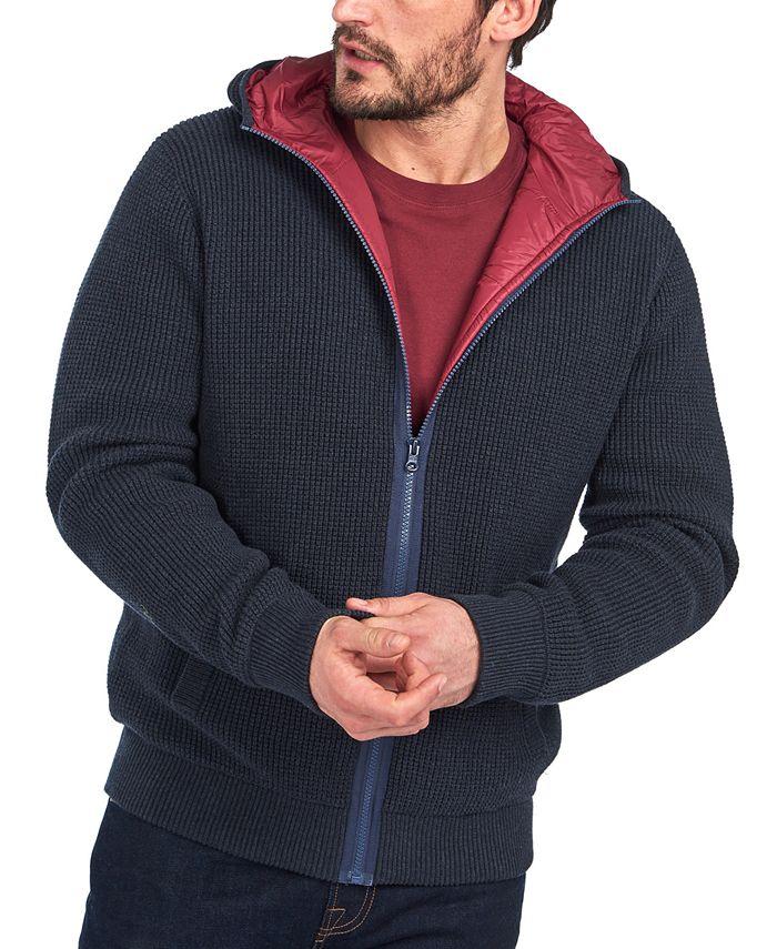 Barbour - Men's Adriatic Zip-Through Ribbed Jacket