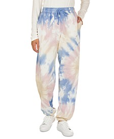 Juniors' Tie-Dye Sweatpants