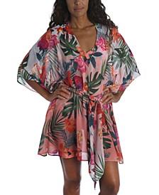 Belted Caftan Cover Up