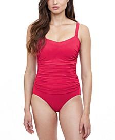 Tutti Frutti Underwire Tummy Control One-Piece Swimsuit