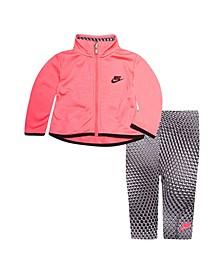 Baby Girls Jacket and Leggings Set