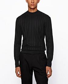 BOSS Men's T-Deriso Mock-Neck Sweater