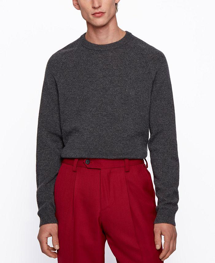Hugo Boss - Men's Davido Regular-Fit Sweater