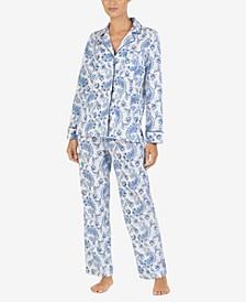 Printed Cotton Pajama Set