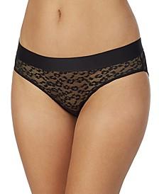Women's Leopard Lace Bikini Underwear