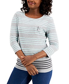 Striped Top, Created for Macy's