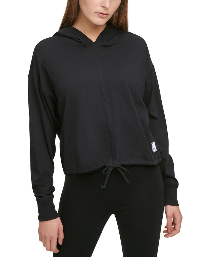 DKNY - Cotton Cropped Hoodie
