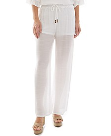 Juniors' Wide-Leg Pants