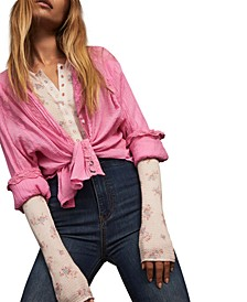 Clemence Button-Down Top