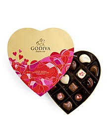 Valentine's Heart Gift Box, 14-Piece