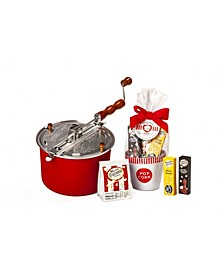 Holiday for the Love of Popcorn Red Whirley Pop Giftset