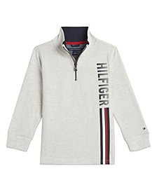Little Boys Seth Half Zip Top