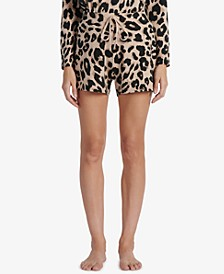 Essential Animal-Print Shorts