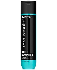 Total Results High Amplify Conditioner, 10.1-oz., from PUREBEAUTY Salon & Spa
