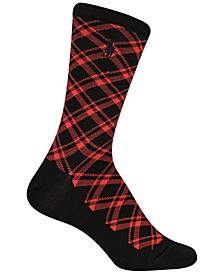 Women's Holiday Plaid Crew Socks