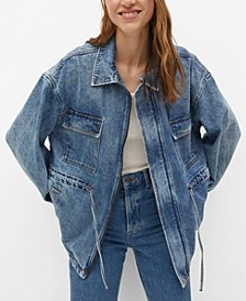 Women's Oversize Denim Jacket